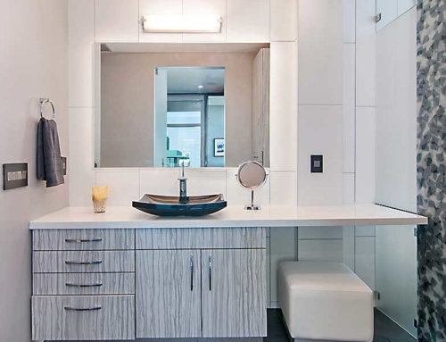 Penthouse Bath and Vanity