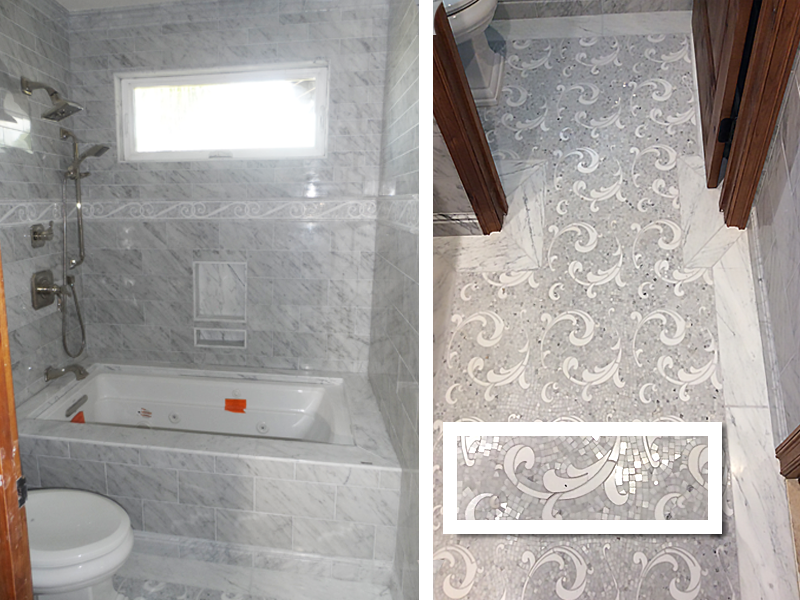 carrara-tile-bathtub-white-mosaic-floor