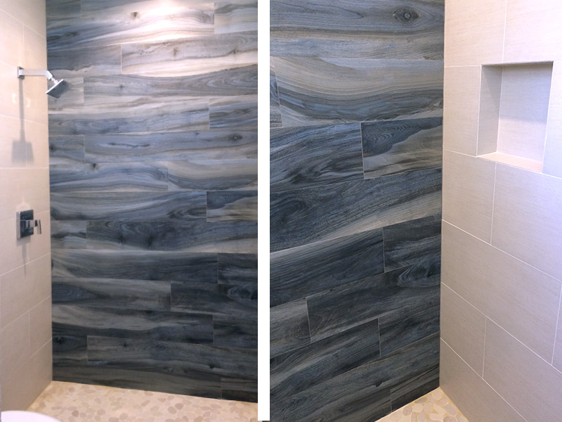 Bathroom Shower Tile Darkwood Design European Expression