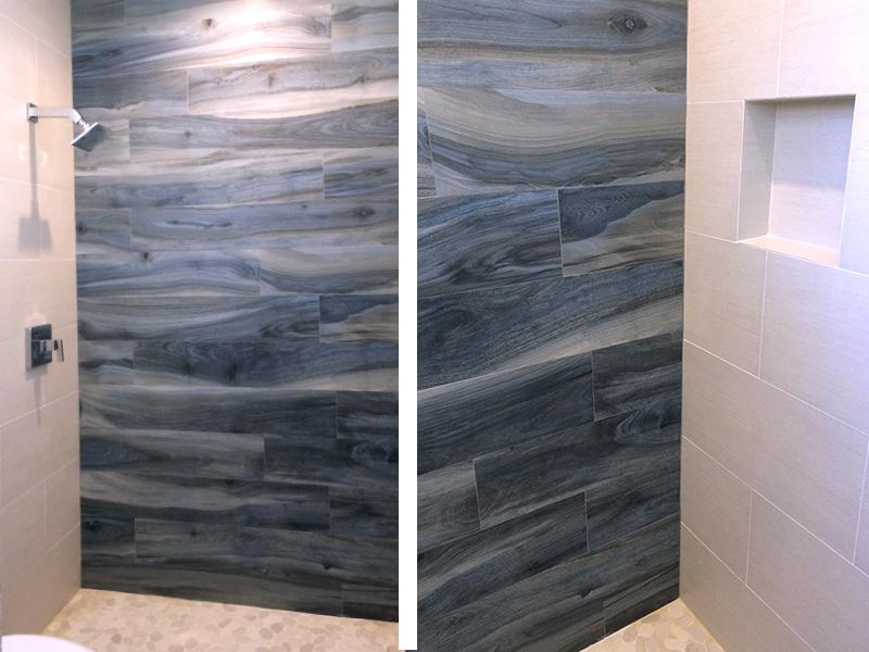 Bathroom Shower Tile Darkwood Design